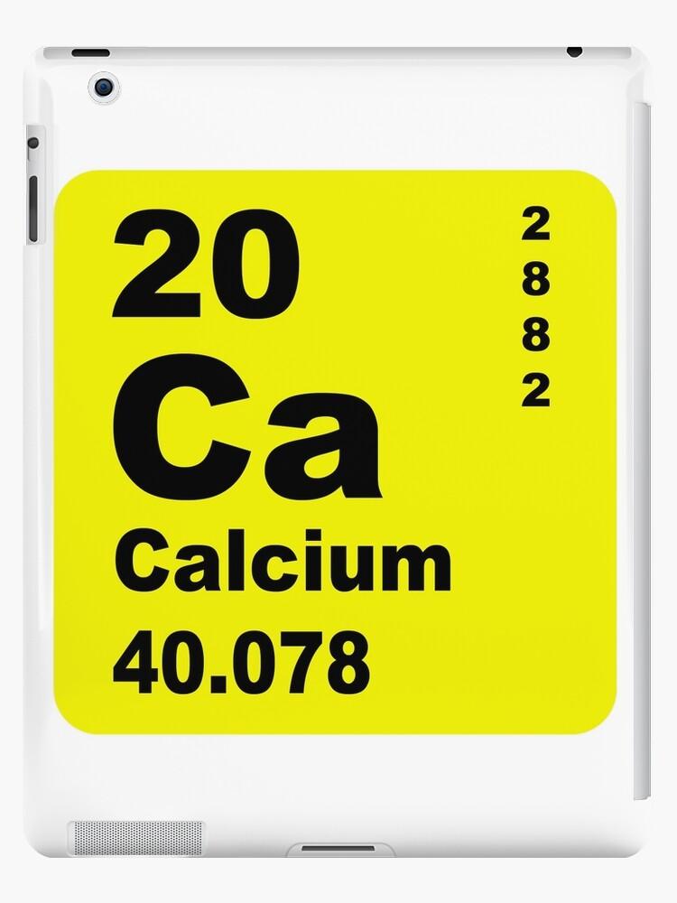 Calcium Periodic Table Of Elements Ipad Cases Skins By