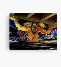 The Atlas of Chicano Park Canvas Print