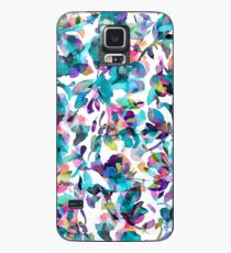 Aquatic flowers Blue - Tropical floral - Watercolor hibiscus Case/Skin for Samsung Galaxy