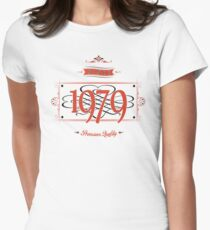 Since 1979 (Red&Black) Women's Fitted T-Shirt