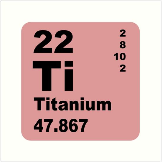 titanium periodic table | Brokeasshome.com