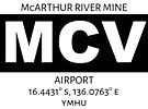 McArthur River Mine Airport MCV by AvGeekCentral