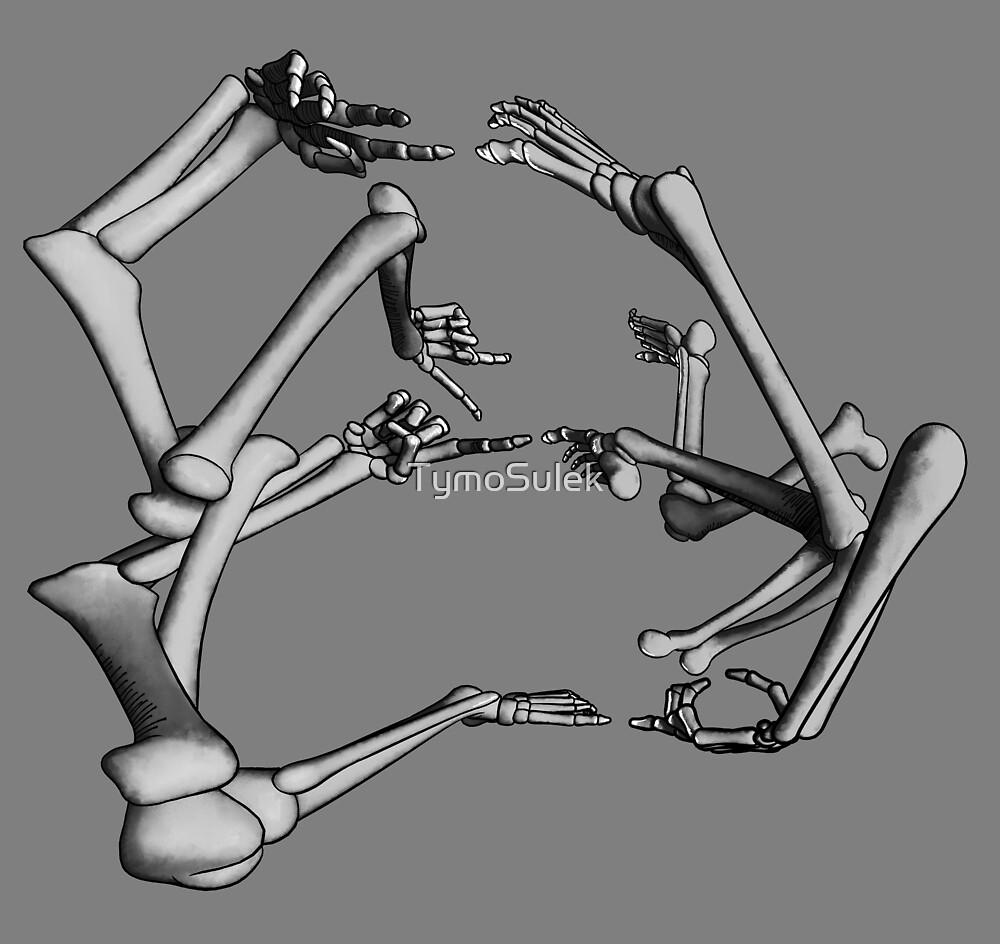 8 Limbs   Graveyard   Grey   by TymoSulek