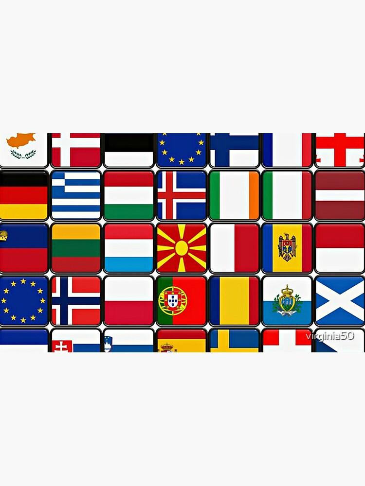 International Flag Collage by virginia50