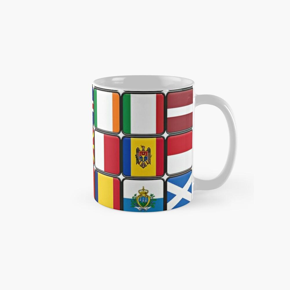 International Flag Collage Mugs