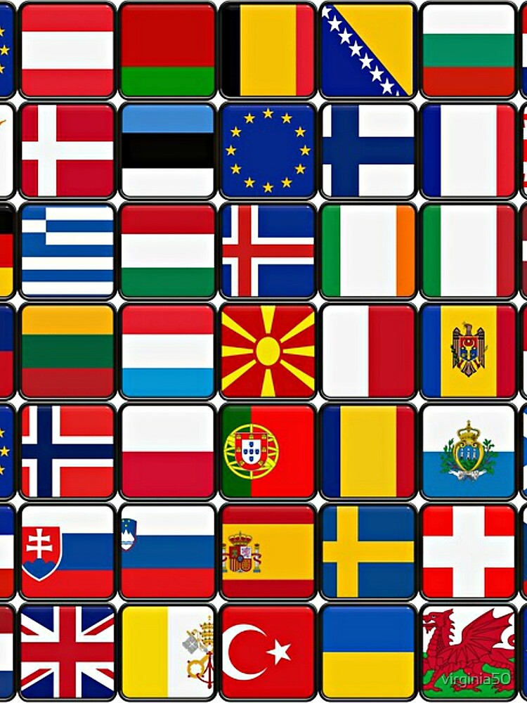 International Flag Collage by virginia50