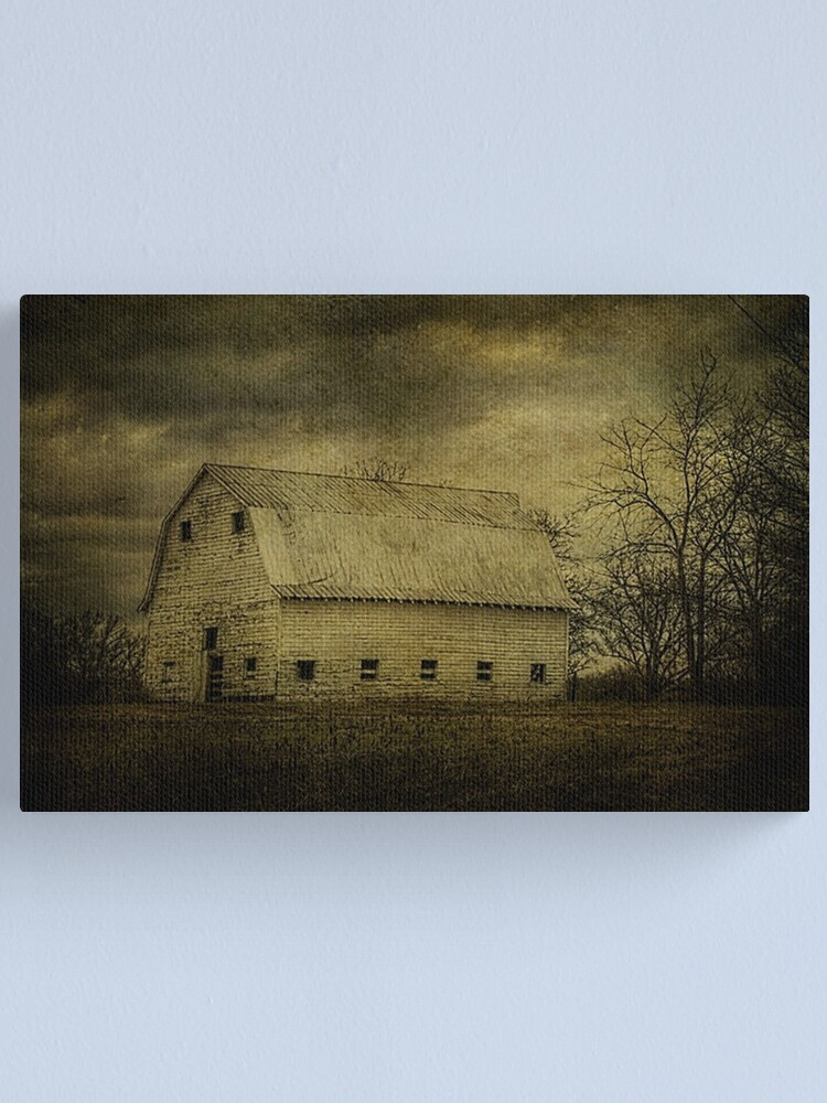 Alternate view of Not Afraid to Tell Her Age Canvas Print