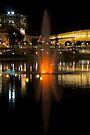 Fountain Glow by Helen Vercoe