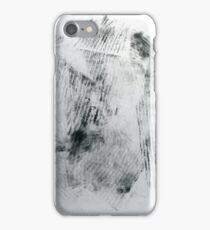 Quand mon Petit Pull Noir... #3 - Monotype Empreinte iPhone Case/Skin