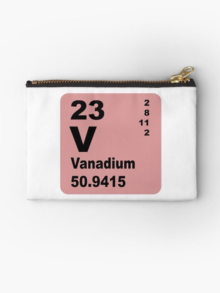 Bolsos de mano tabla peridica de elementos de vanadio de tabla peridica de elementos de vanadio de walterericsy urtaz Images