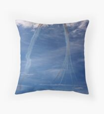 Red Arrows! Throw Pillow