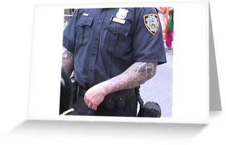 Strong arm of the law by chipster
