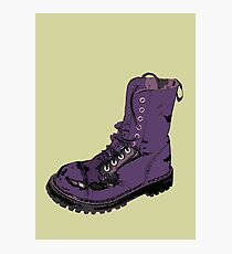 Give 'Em the Boot Photographic Print