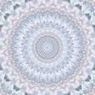 Pale Pastel Kaleidoscope by KaleiopeStudio