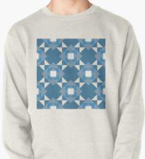Pop Squares BLUE Pullover Sweatshirt