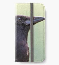 Cades Cove Crow Closeup iPhone Wallet/Case/Skin