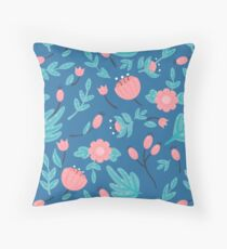 Blue florals Floor Pillow