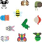 Animal Stickers 2 by axemangraphics