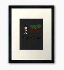 Guybrush Threepwood Mighty Pirate Framed Print