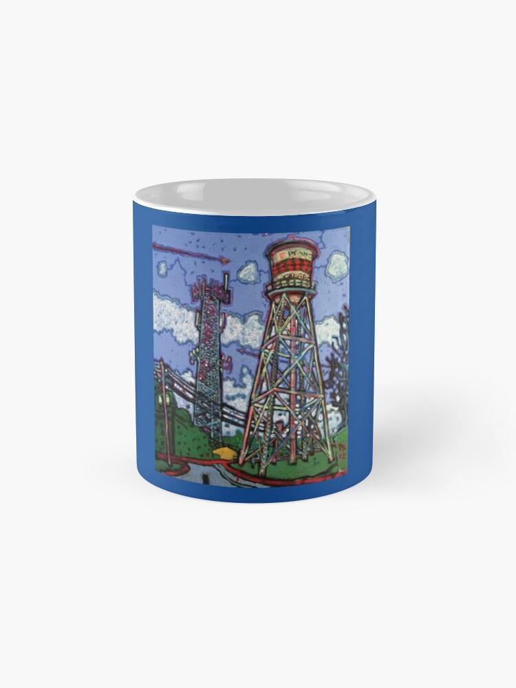 Alternate view of Penn Field Water Tower, Austin, Texas Mug