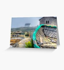Dilapidated Dory Greeting Card
