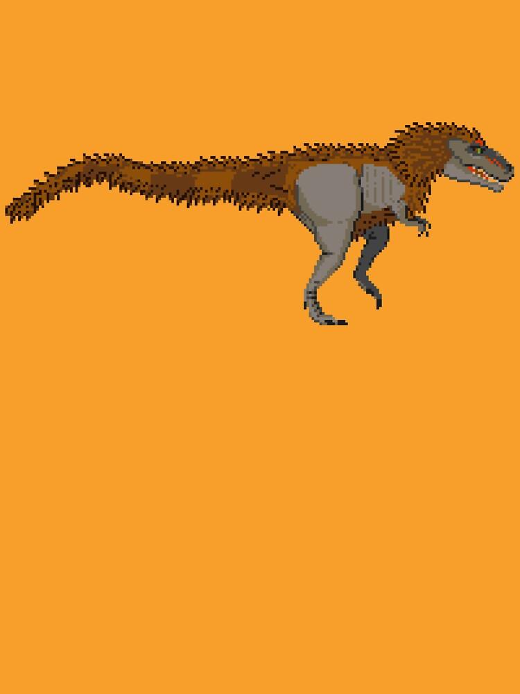Tyrannosaurus Rex (with extra fuzz) by Moppo