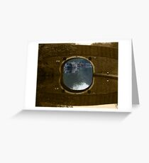 Portal from the past Greeting Card