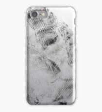 Quand mon Petit Pull Noir... #4 - Monotype Empreinte iPhone Case/Skin