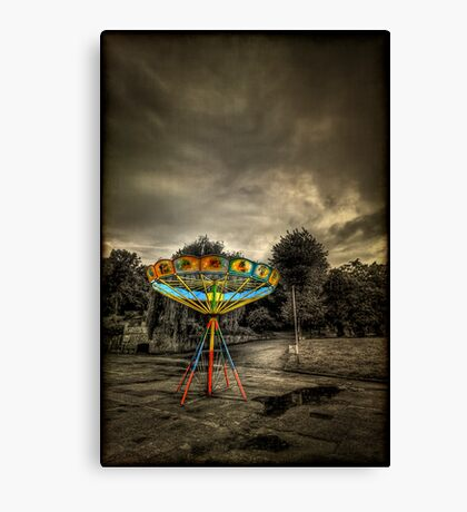 No More Rides... Canvas Print