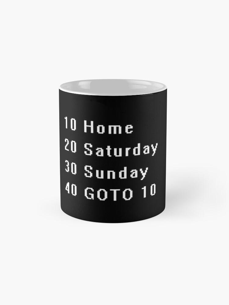 Alternate view of Computer, Basic, Weekend, GOTO Mug