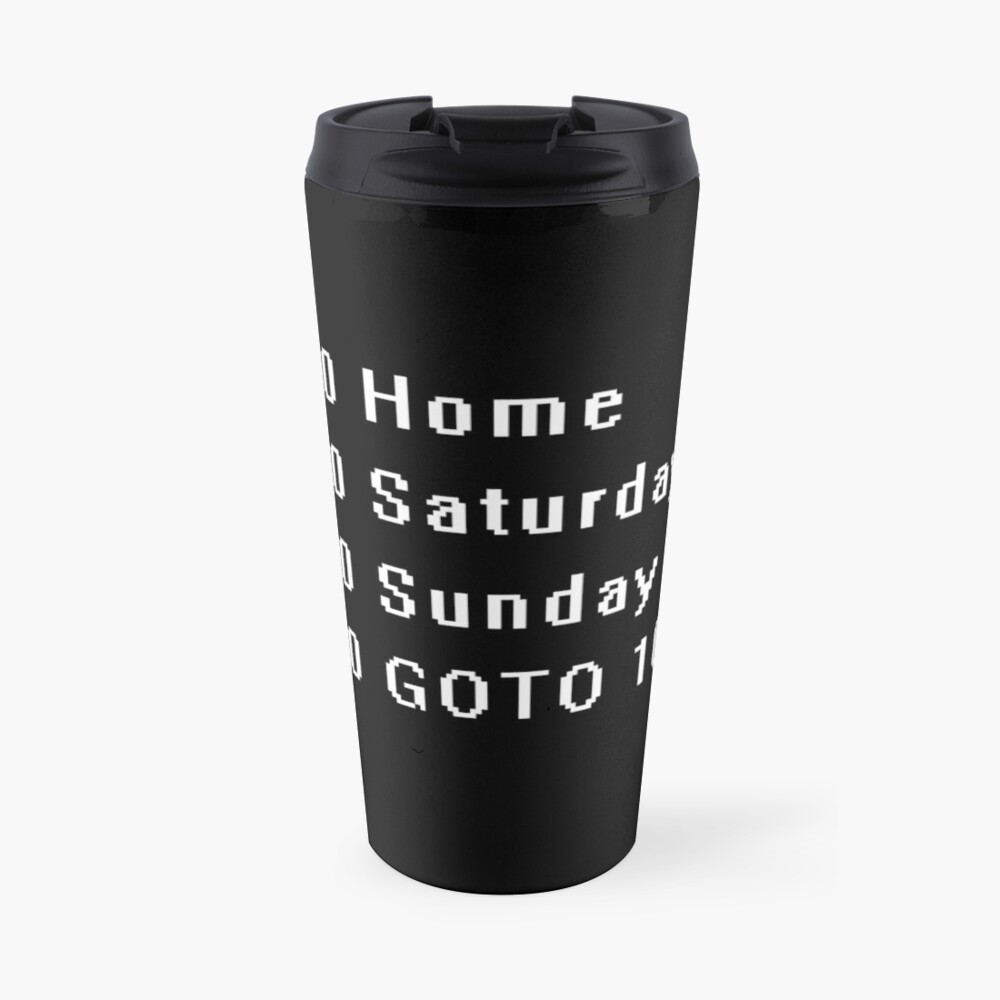 Computer, Basic, Weekend, GOTO Travel Mug