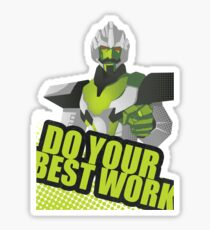 Motivational Minimus Sticker