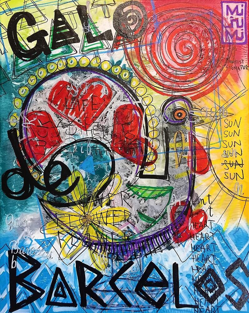 Galo de Graffiti 2 by PortugalRooster