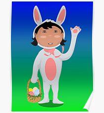 Easter Girl Poster