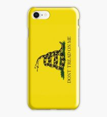 Smartphone Case - Gadsden (Tea Party) Flag I iPhone Case/Skin