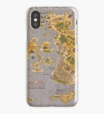 Continentia Mini Map iPhone Case/Skin