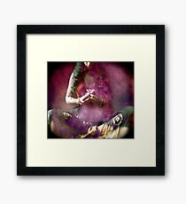 Flower Offering Framed Print