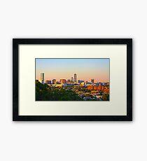 Boston Sunrise Framed Print