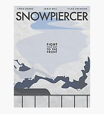 Snowpiercer  Photographic Print