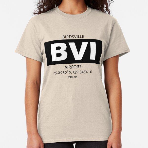 Birdsville Airport BVI Classic T-Shirt