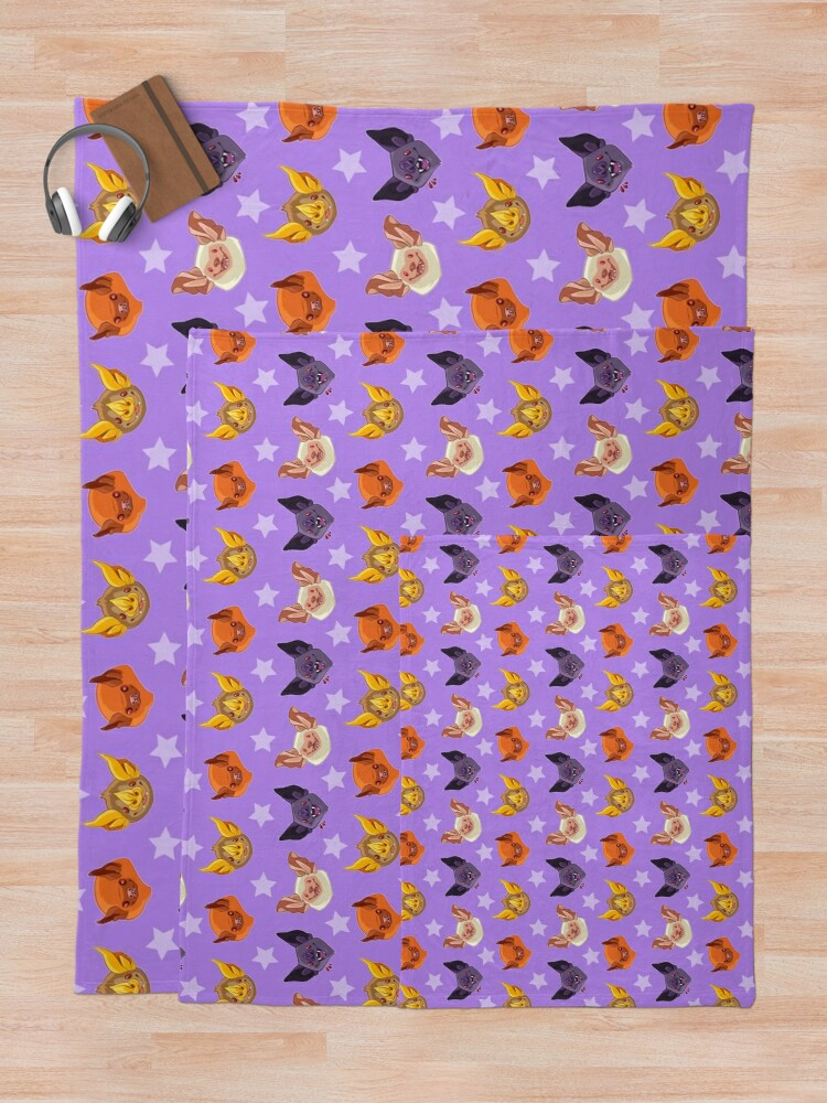 Alternate view of Bat Cuties Throw Blanket