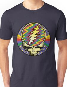 Steal your face - Stars and rainbow - Grateful Dead Unisex T-Shirt