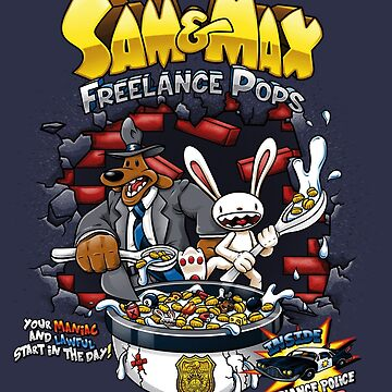 Sam & Max Freelance Pops by crula