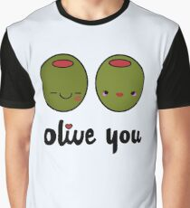 Olive You  Graphic T-Shirt