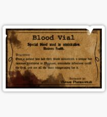 Blood Vial - Bloodborne Sticker