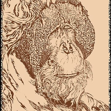 Leonardo Da Orangutan by rewireddesign