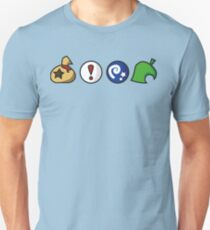 Animal Crossing Items (in vielen Farben!) Slim Fit T-Shirt