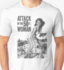 50 ft Woman Unisex T-Shirt