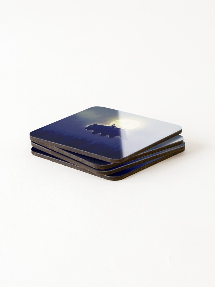 Alternate view of The End of All Things - Night Version Coasters (Set of 4)
