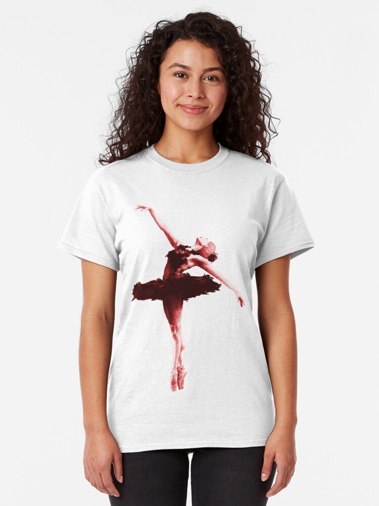 The Red Shoes Ballet Shoes Classic Tshirt